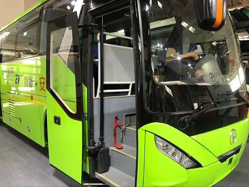 Tepkos Brand Pneumatic bus door system with swing out type 2
