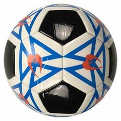 Cheap 2.5mm PVC Soccer Ball OEM Football Training