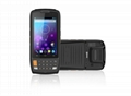 4 inch android handheld PDA r   ed barcode scanner