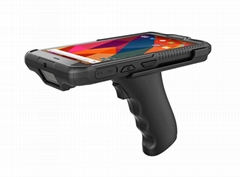 Handheld Mobile Device 6 Inch R   ed PDA Win 10 Barcode Scanner