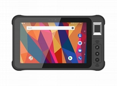7 Inch Android Barcode Scanner Rugged Industrial Tablet Pc