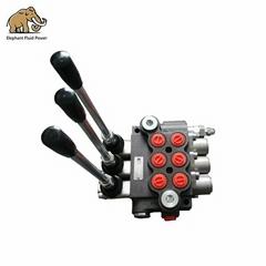 Hydraulic Hand Drills Directional Control Valve 3 Spool P40