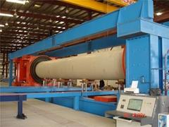 GRP Pipe Hydrostatic Test Machine