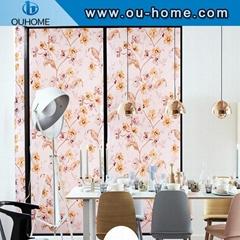 H8271 Custom decorative static glass film