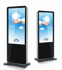 43 inch Advertising floor stand digital signage