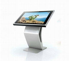 43 inch Horizontal Type  Interactive touch Query Kiosk with android system