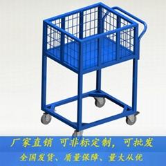 厂家直销车板加高平板车可加围栏手推车工具车定制批发