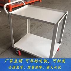 廠家直銷車板加高平板車可加圍欄手推車工具車定製批發