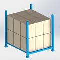 厂家定制批发固定式上货架可堆叠