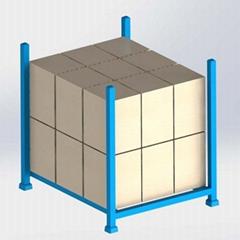 廠家定製批發固定式上貨架可堆疊巧固架 金屬貨架 鋼制堆垛式貨架
