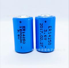ETC电池高速公路通行卡高容量型ER14250锂亚硫酰氯电池