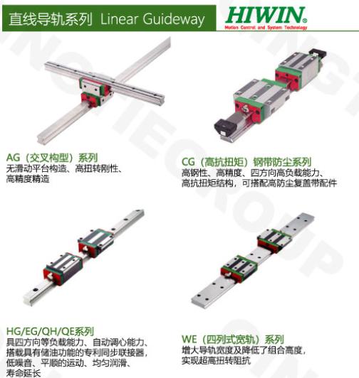 台湾银泰PMI 上银HIWIN 导轨丝杆 2