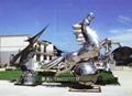 创意不锈钢动物雕塑