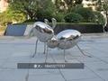 镜面仿真昆虫雕塑不锈钢动物雕塑 4