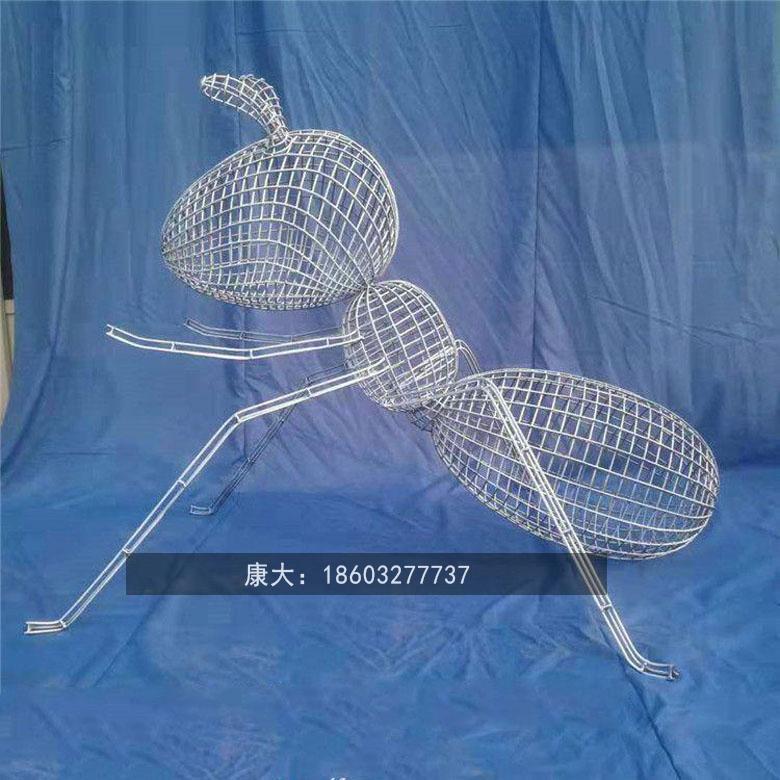 不锈钢公园小区广场特色金属动物雕塑小品装饰 3