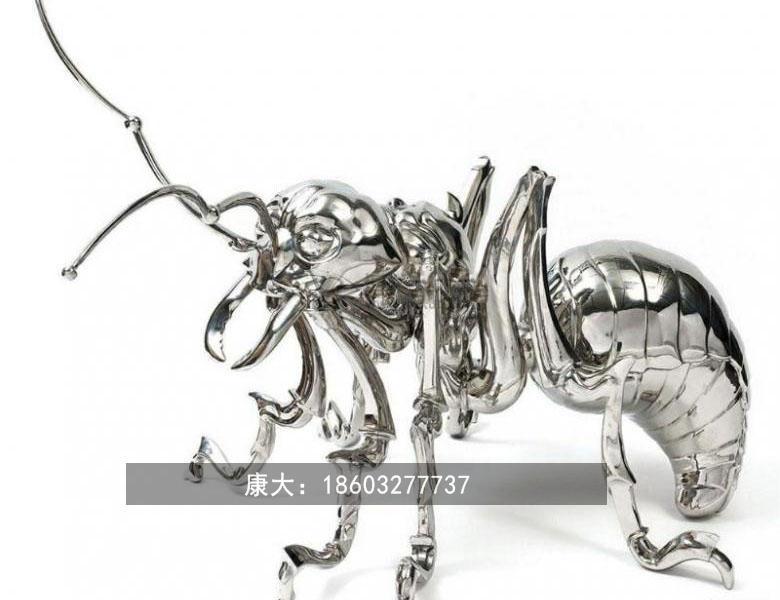 不锈钢蜜蜂雕塑 创意工艺品景观动物摆件 4