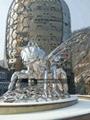 不锈钢蜜蜂雕塑 创意工艺品景观