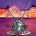 不锈钢小蜜蜂雕塑抽象景观昆虫雕塑 2