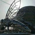 不锈钢小蜜蜂雕塑抽象景观昆虫雕塑 4