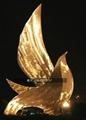 不锈钢鸽子雕塑不锈钢动物手工锻造雕塑 4