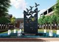 不锈钢鸽子雕塑不锈钢动物手工锻造雕塑 5