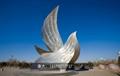 不锈钢鸽子雕塑不锈钢动物手工锻造雕塑 2