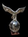 仿真动物雕塑不锈钢老鹰雕塑