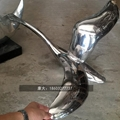 金属鸟类艺术品雕塑不锈钢动物雕