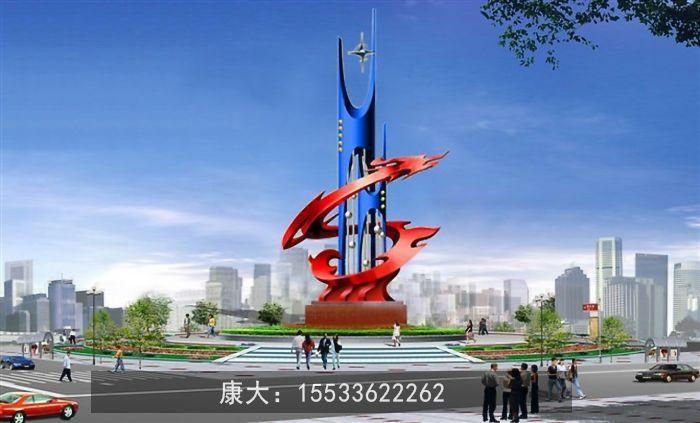 锈钢雕塑定制大型户外广场园林景观小品 2