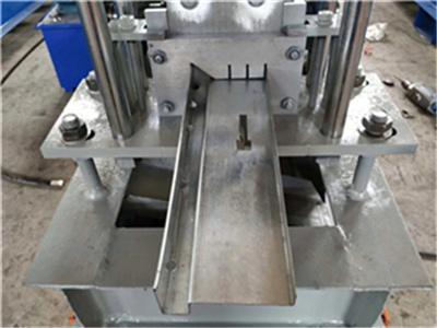 Special designed steel door frame cold roll forming equipment 2