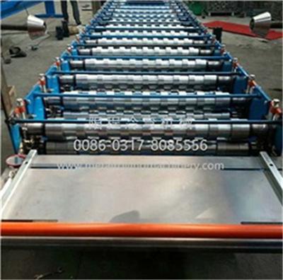 YC Metal Sheet Rolling Door Roll Forming Machine 3