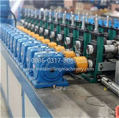Automatically Interchangeable Steel Forming Machine 1