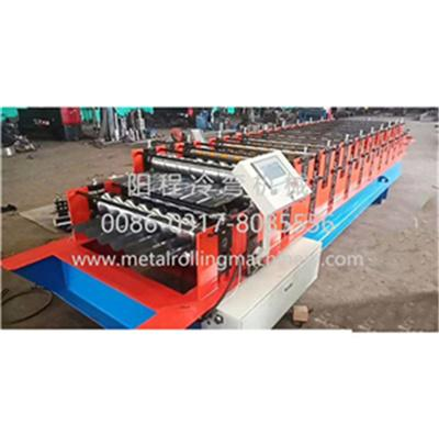 Roof Tile Double Layer Roll Forming Machine 1