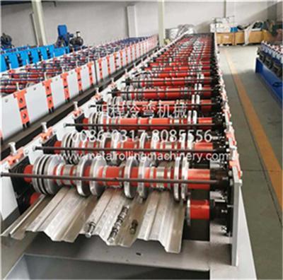 YC 914-75 Steel Floor Deck Roll Forming Machine 1