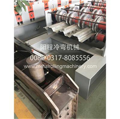 YC 914-75 Steel Floor Deck Roll Forming Machine 2