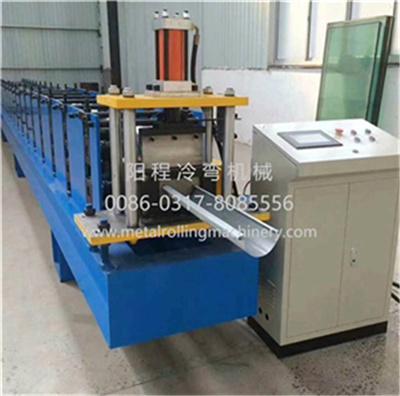 Steel Half Round Gutter Roll Forming Machine 2