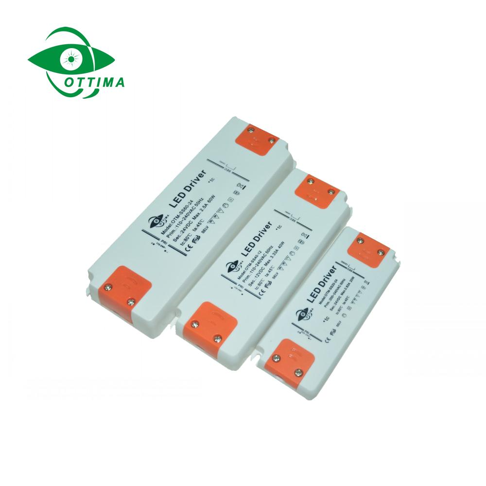 12v 50w ultra thin slim led driver constant voltage  constant current led driver 2