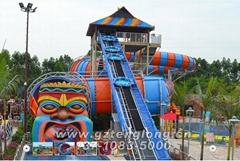 水上乐园设备巨蟒滑梯