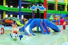 章魚滑梯儿童水上樂園戲水池