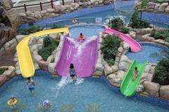 儿童组合滑梯水上乐园玻璃钢滑道