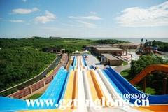 彩虹競賽滑梯大型水上遊樂設施