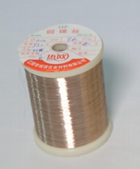 Copper Nickel CuNi1 Alloy Wire Resistance Wire