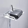 太空铝电视机顶盒架无线路由器支
