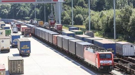 潮州鐵路去德國漢堡 長沙北始發 國際貨運  2