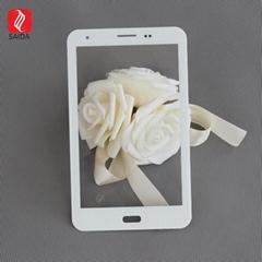 工廠定製7''-15.6''白色絲印觸摸屏蓋板玻璃