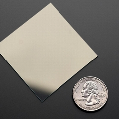 工厂定制实验室ITO/FTO 5-100ohm 100x100mm玻璃