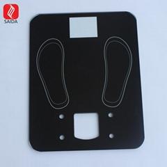 工厂定制 ITO镀膜电子称玻璃 浴室导电玻璃