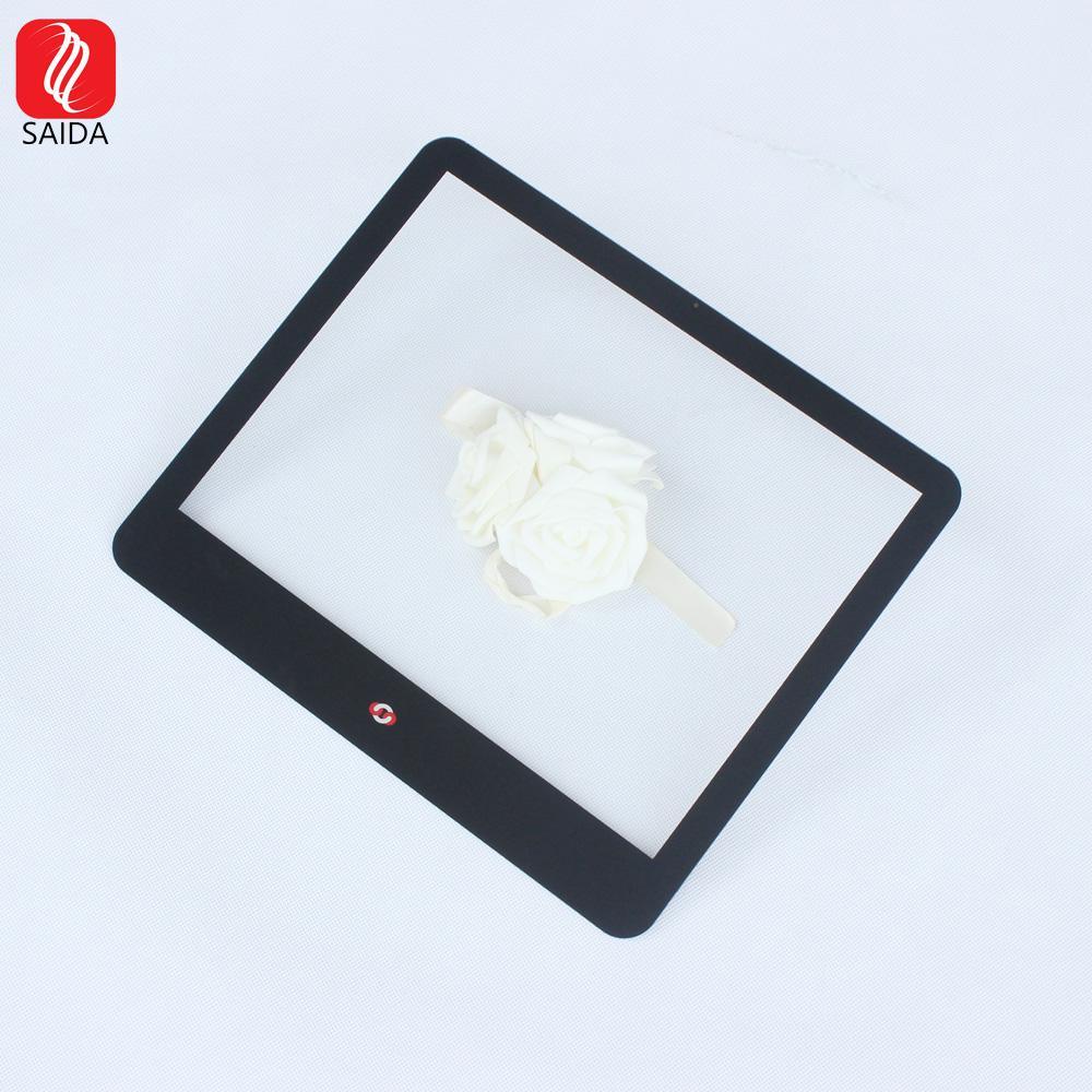 定製15寸工業觸控屏玻璃蓋板 1