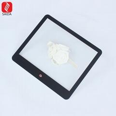 定製15寸工業觸控屏玻璃蓋板