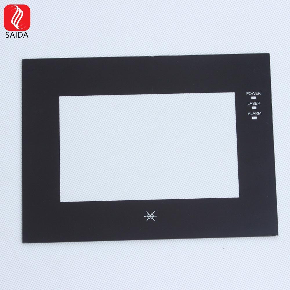 定製 工業級別 顯示屏玻璃蓋板 保護鋼化玻璃片 3